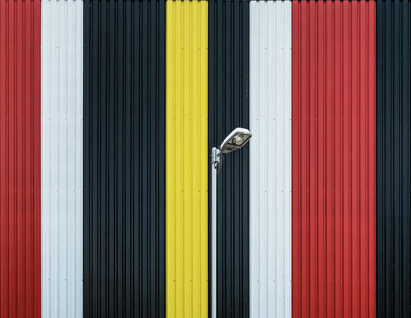 Steel Wall Art - Photograph - Colors. by Harry Verschelden