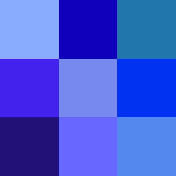 Wall Art - Photograph - Colors Of Blue by Karon Melillo DeVega