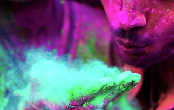 Holi Photograph - Colors Of Hope by Srivatsaa