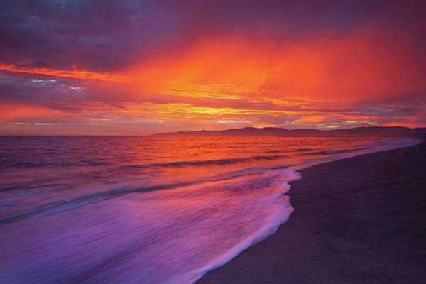 Surf City Usa Photograph - Colors Of Light by Andrew Kennelly