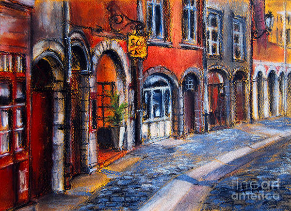 Paysage Wall Art - Painting - Colors Of Lyon 2 by Mona Edulesco
