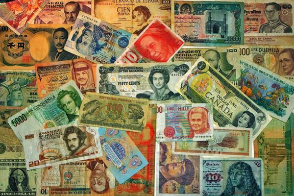 Legal Tender Photograph - Colors Of Money by Benjamin Yeager