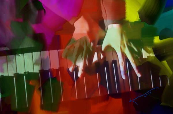 Joyous Mixed Media - Colors Of Music by Kume Bryant