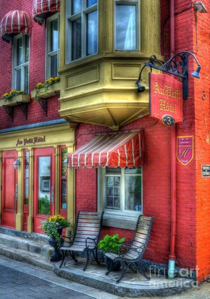 Quebec City Photograph - Colors Of Quebec 4 by Mel Steinhauer