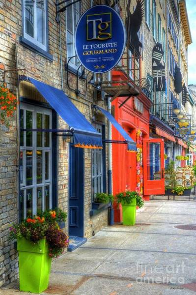 Old Quebec Photograph - Colors Of Quebec by Mel Steinhauer
