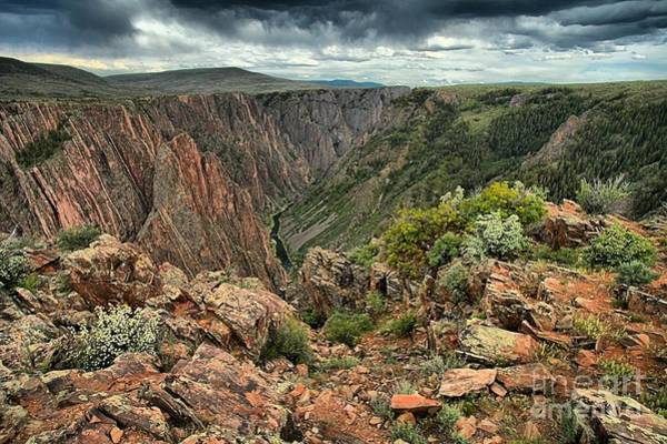 Photograph - Colors Of The Black Canyon by Adam Jewell