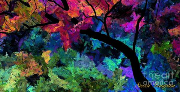 Wall Art - Painting - Colors Of The Dream by Steven Lebron Langston