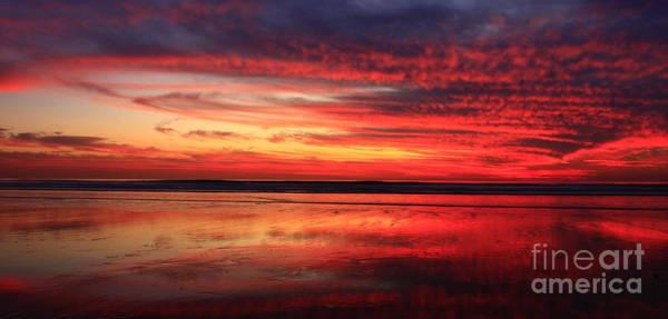 Photograph - Encinitas Twilight Tide by John F Tsumas