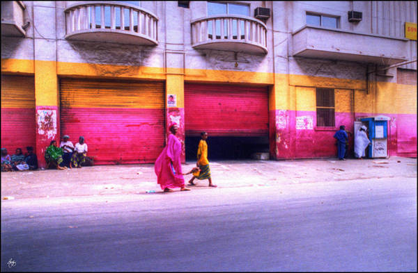 Photograph - Colors On The Streets Of Dakar Senegal by Wayne King