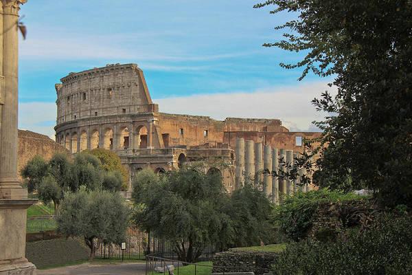 Colosseum Afar Art Print