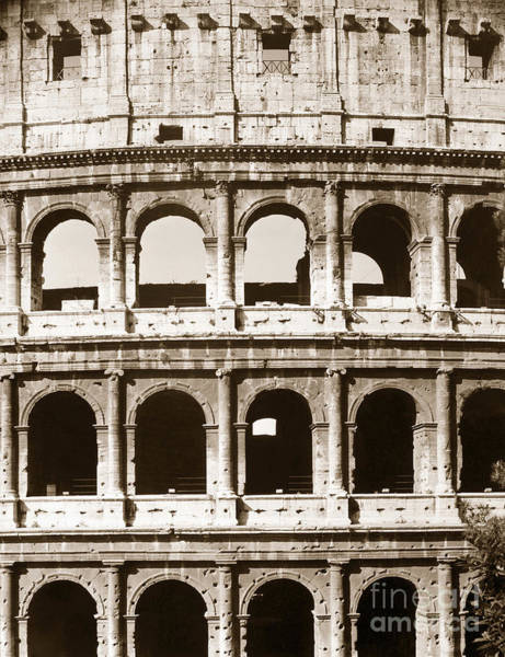 Photograph - Colosseum by Granger
