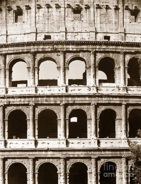 Photograph - Colosseum by Granger
