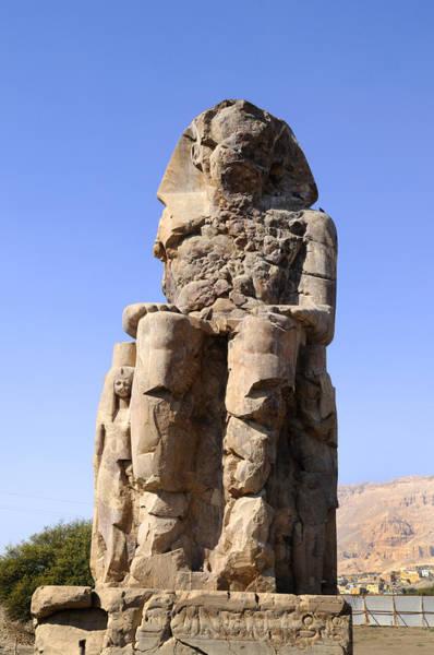 Photograph - Colossus Of Memnon Egypt by Brenda Kean