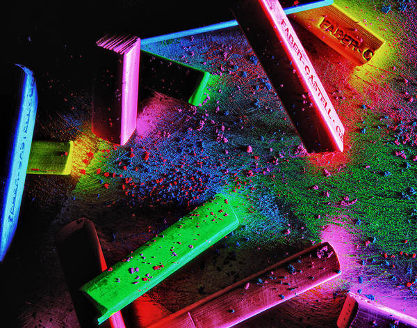 Photograph - Coloured Chalks  by Mauro Celotti