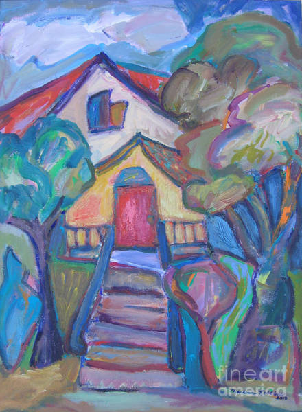 Painting - Colouresque House by Marlene Robbins