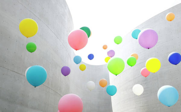 Abundance Photograph - Colourful Balloons by Ego206 / Multi-bits