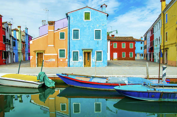 House Photograph - Colourful Burano by Federica Gentile