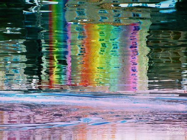 Digital Art - Colourful  Stripes by Augusta Stylianou