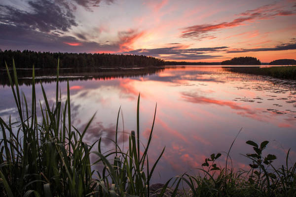 Suomi Photograph - Colourful Sunset by Jan Stria
