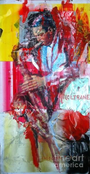 Wall Art - Painting - Coltrane by Massimo Chioccia