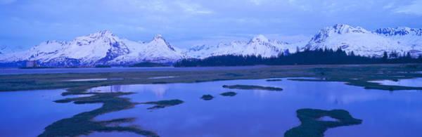 Escarpment Photograph - Columbia Glacier Near Transalaska by Panoramic Images