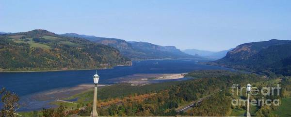 Photograph - Columbia Gorge Panorama by Charles Robinson