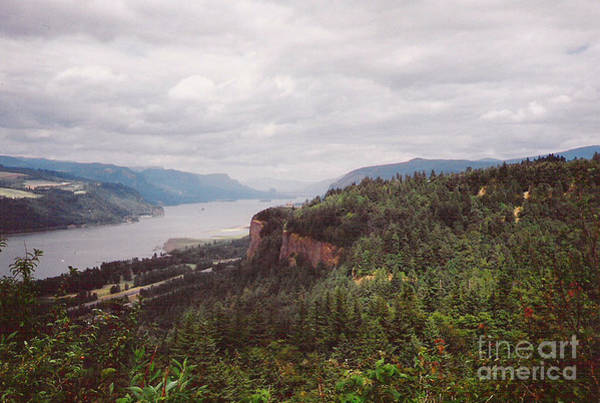 Photograph - Columbia River Gorge Storm by Charles Robinson
