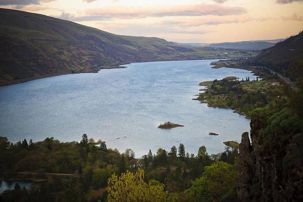 Rowena Photograph - Columbia River Near Mosier Oregon by Derrel Hewitt