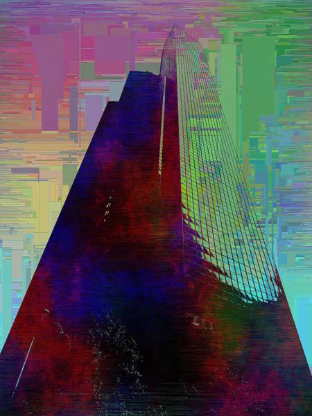 Highrise Digital Art - Columbia Tower Cubed 1 by Tim Allen