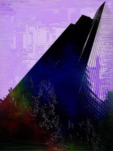 Highrise Digital Art - Columbia Tower Cubed 4 by Tim Allen