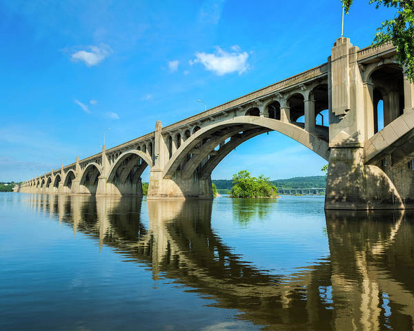 Lancaster County Photograph - Columbia-wrightsville Bridge by Drnadig