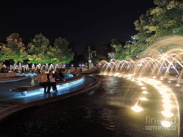 Photograph - Columbus Circle  Nyc by Jeff Breiman