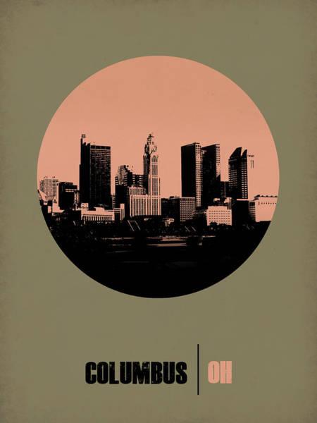 Wall Art - Digital Art - Columbus Circle Poster 1 by Naxart Studio