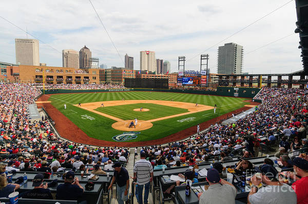 D24w-295 Columbus Clippers Photo Art Print