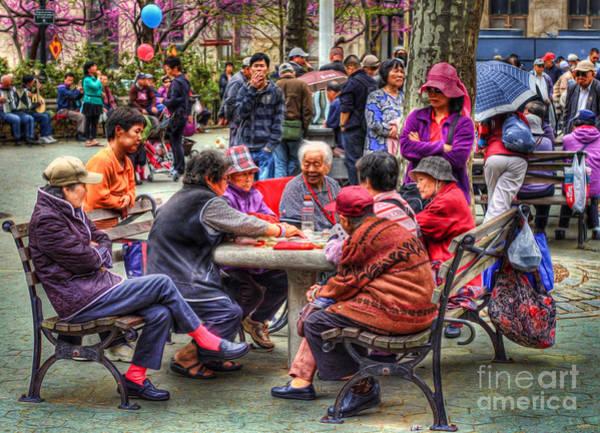 Photograph - Columbus Park Chinatown Nyc by Jeff Breiman