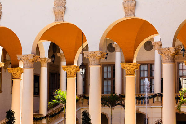 Photograph - Columns And Arches At The Biltmore by Ed Gleichman