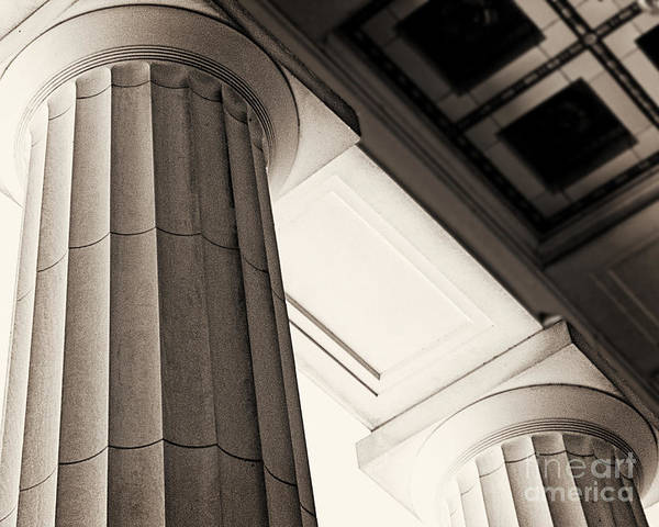 Wall Art - Photograph - Columns by Emily Kelley