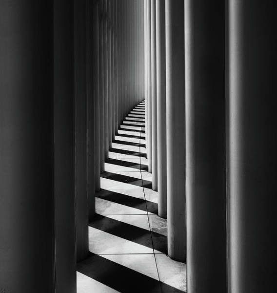Wall Art - Photograph - Columns by Hans-wolfgang Hawerkamp