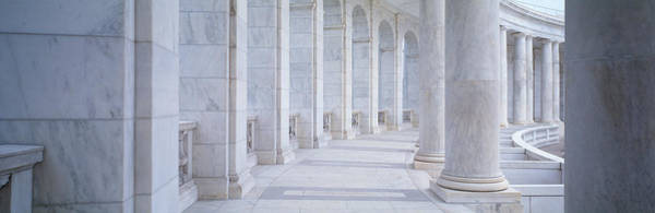Arlington County Photograph - Columns Of A Government Building by Panoramic Images