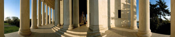 Wall Art - Photograph - Columns Of A Memorial, Jefferson by Panoramic Images