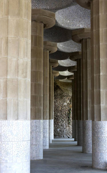 - Columns Of Park Guell by Lorraine Devon Wilke