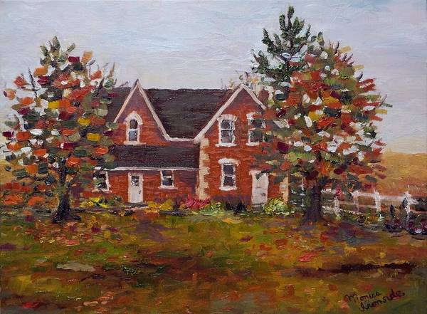 Painting - Colwill Homestead by Monica Ironside