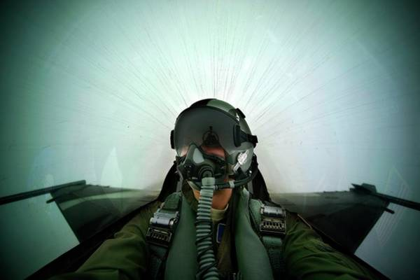 Military Air Base Photograph - Combat Exercise by Us Air Force