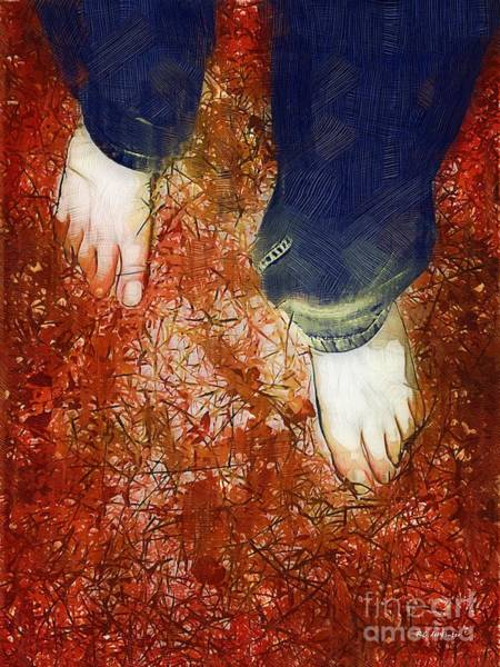 Painting - Come Firewalk With Me by RC DeWinter