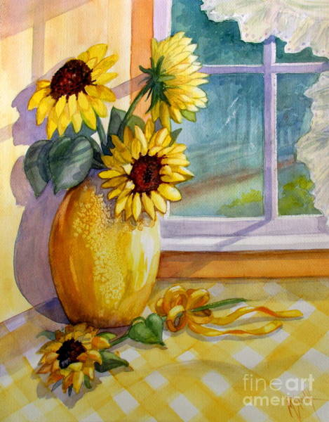 Yellow Ribbon Painting - Come Home by Marilyn Smith