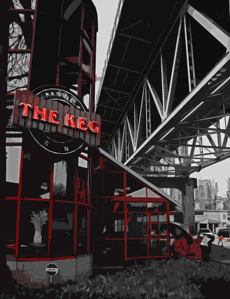 The Keg Photograph - Come Inside And Eat by Michael Klerck