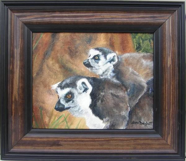 Painting - Come On Come On - Framed by Lori Brackett
