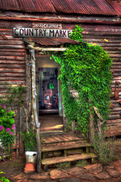 Photograph - Sharecroppers Country Market Come Right In by Reid Callaway