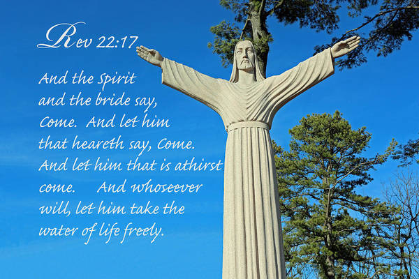 Photograph - Come To Jesus by Lorna R Mills DBA  Lorna Rogers Photography