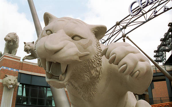 Photograph - Comerica Park - Detroit Tigers by Frank Romeo
